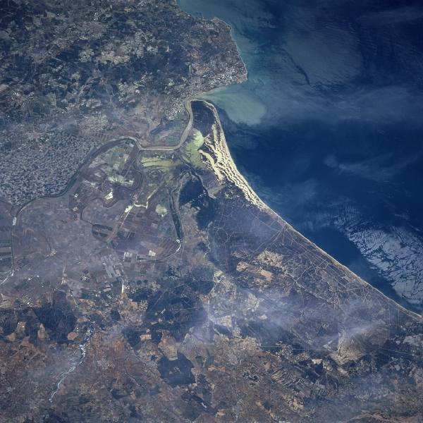 Desembocadura del Rio Guadalquivir, España
