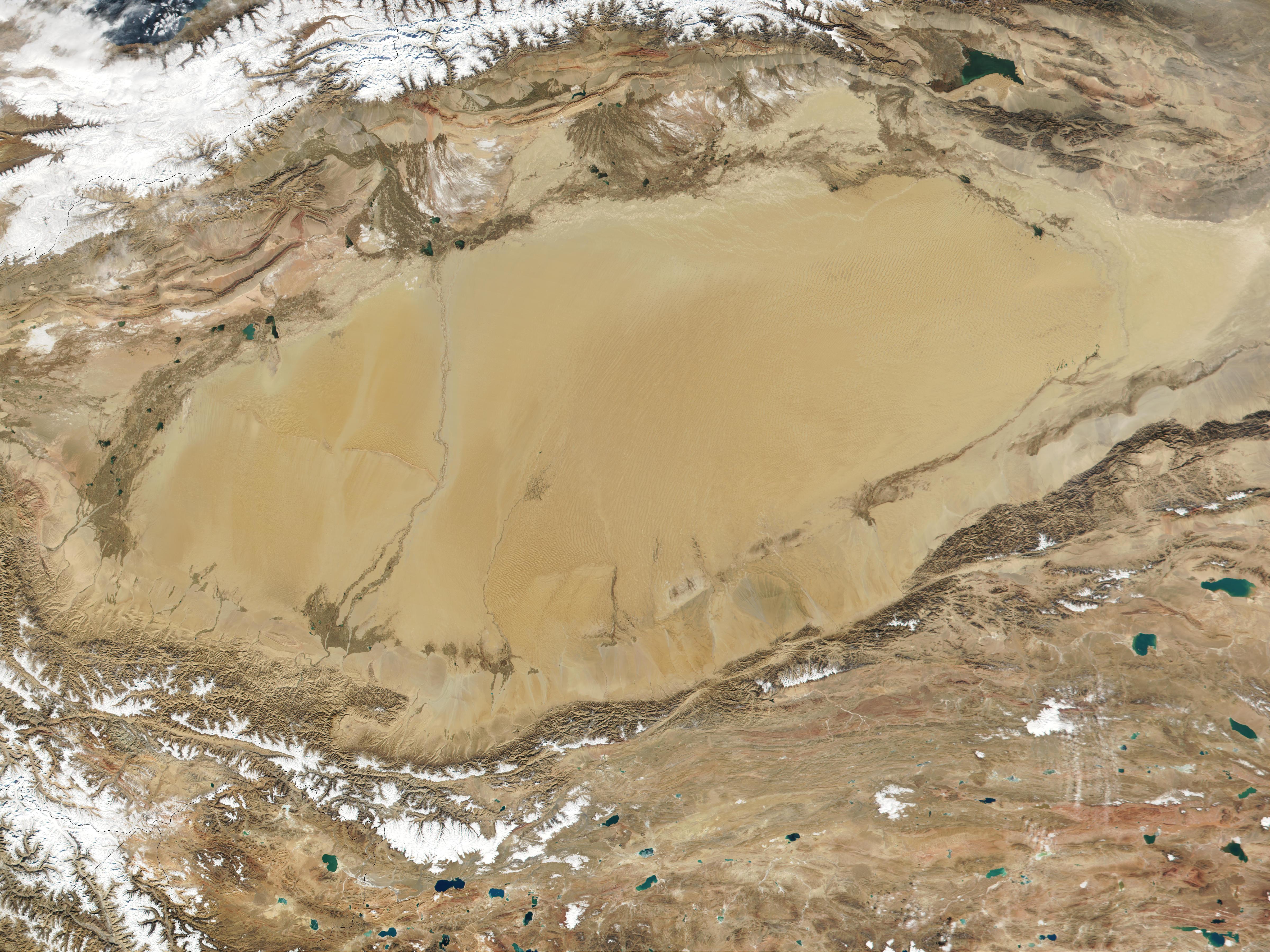 Desierto de Taklamakán, China occidental