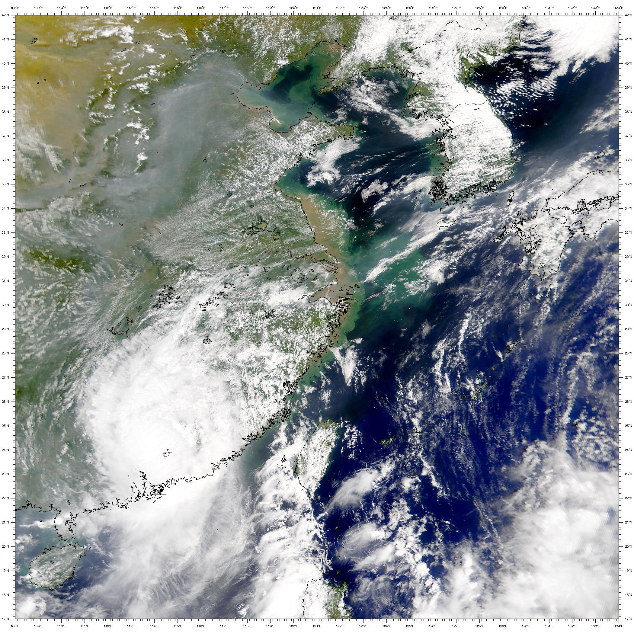 Después del Tifón Prapiroon