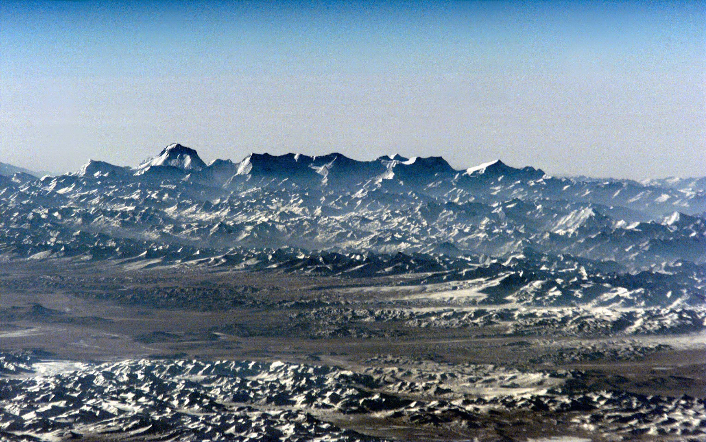 Dhaulagiri, cordillera del Himalaya en Nepal