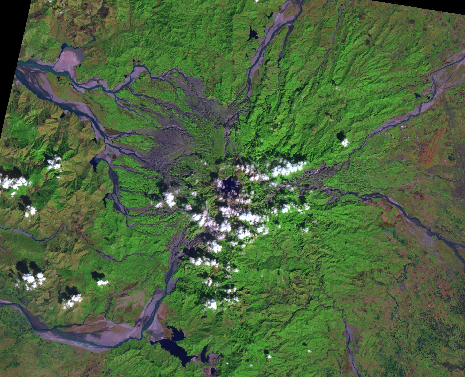 Diez años más tarde el Monte Pinatubo