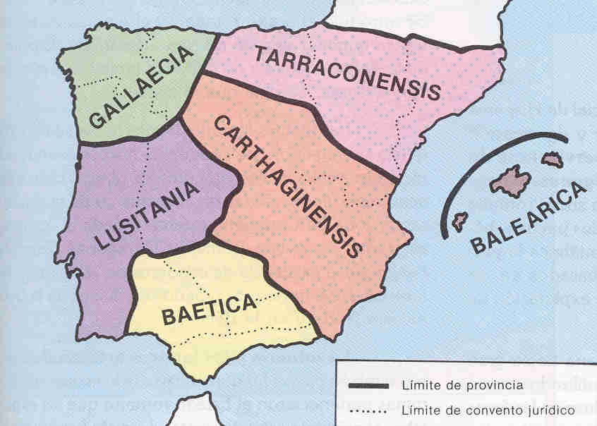 Hispania provincial division under Diocletian