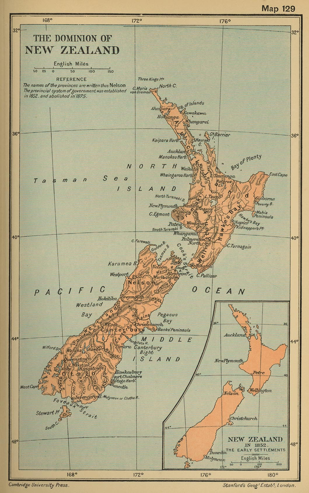 Dominio de Nueva Zelanda 1912