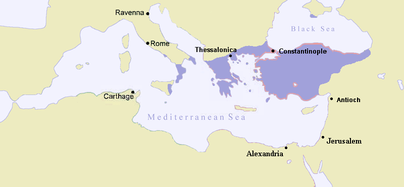 The Byzantine Empire around 867