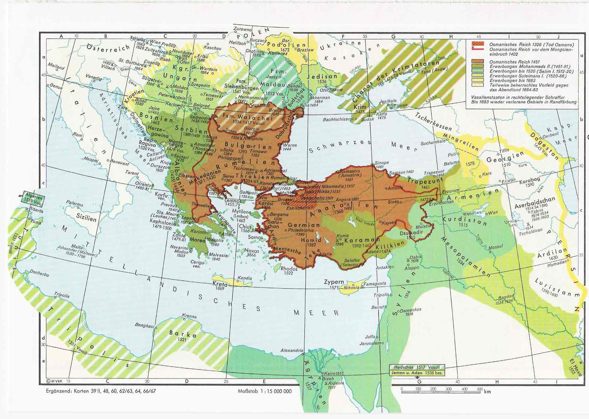 El Imperio Otomano 1326-1683