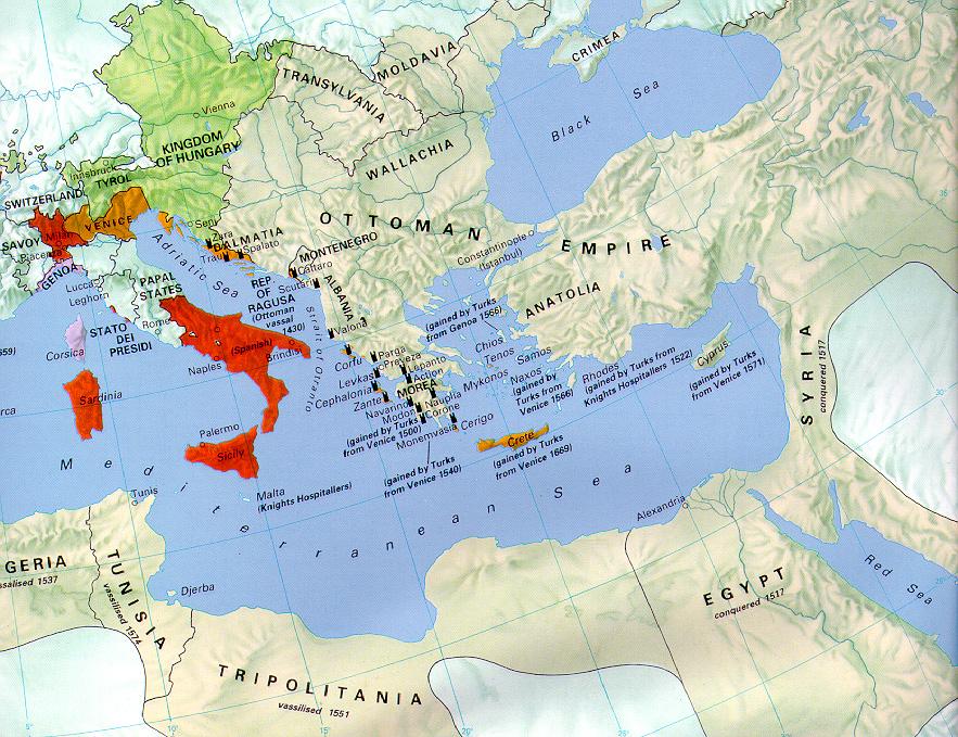 The Ottoman Empire 1500-1571