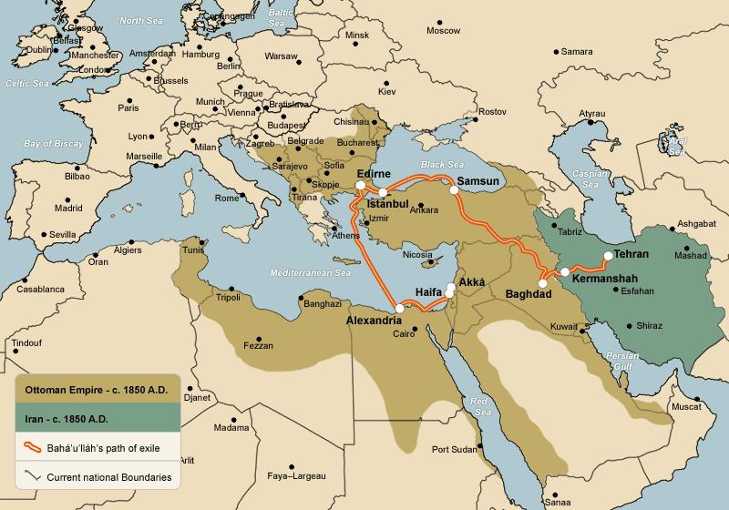 The Ottoman Empire circa 1850