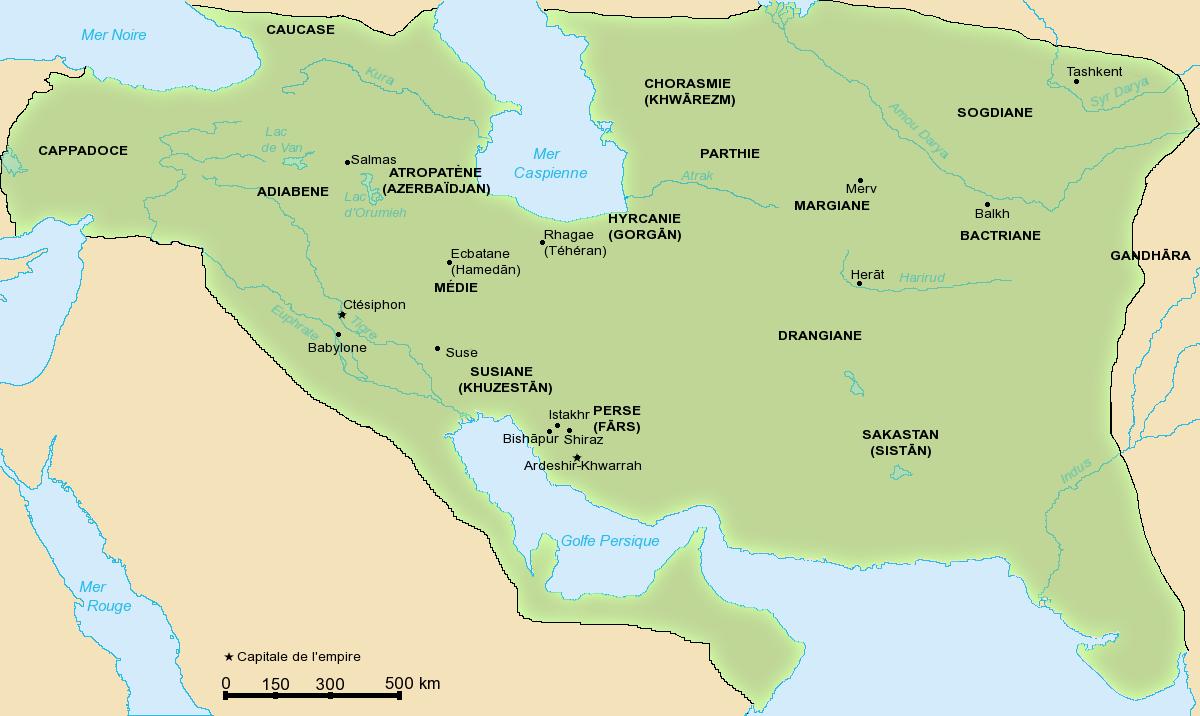 El Imperio Persa Sasánida 531-579