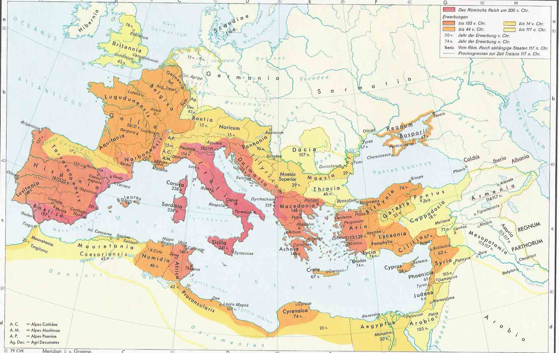 The Roman Empire 200 BC-117