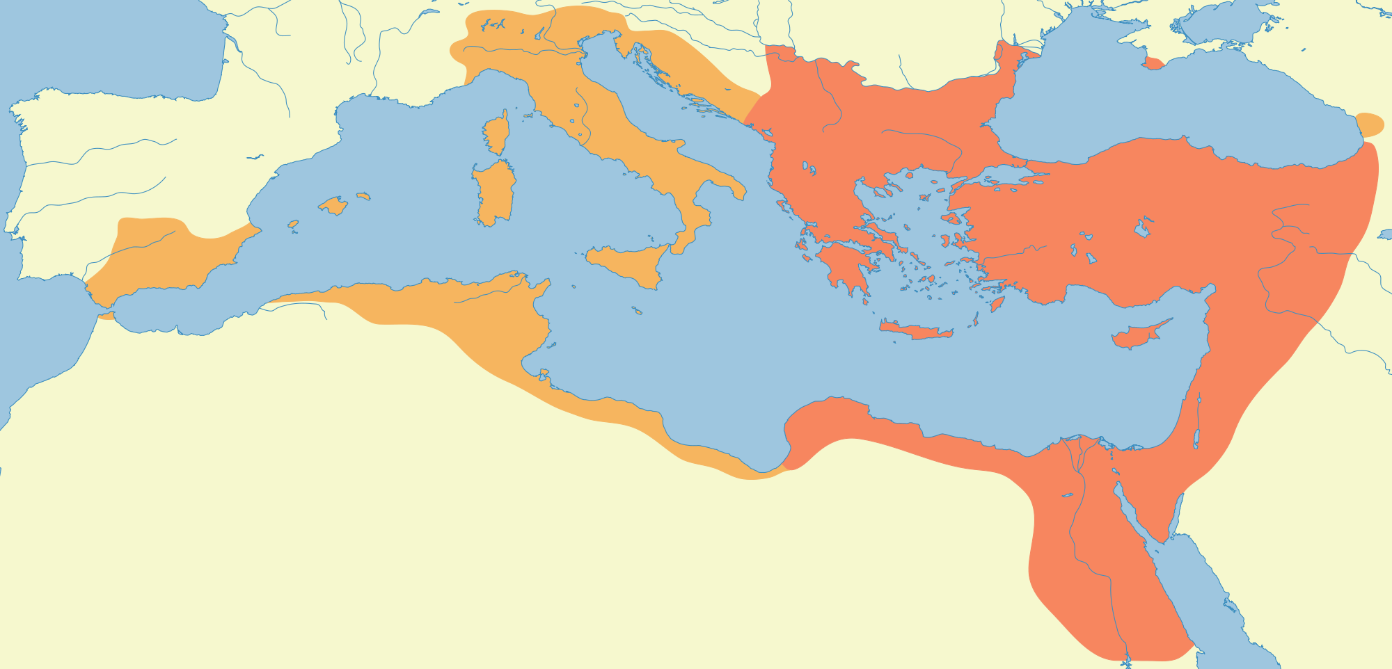 The Eastern Roman Empire 527-565