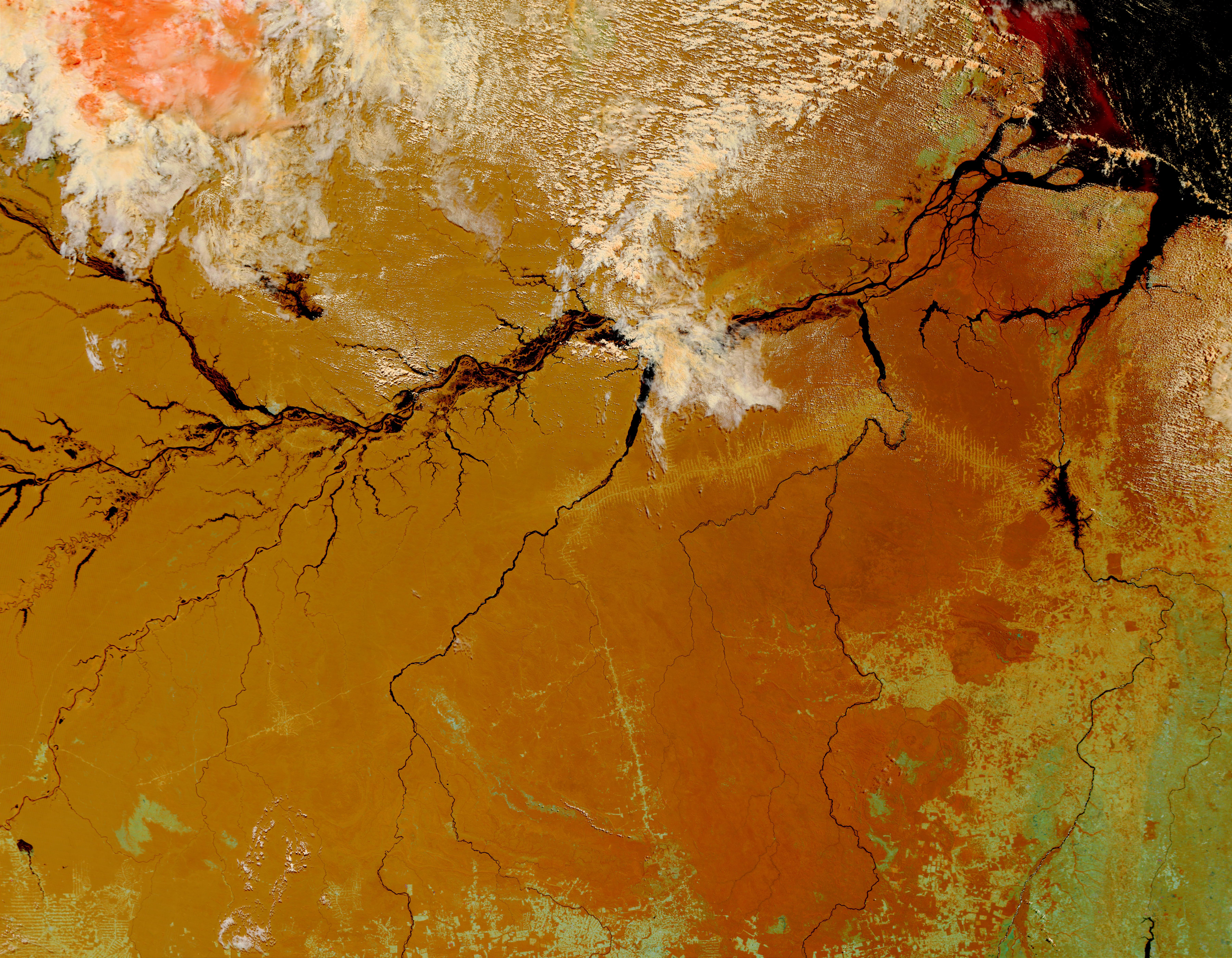 El río Amazonas, Brasil