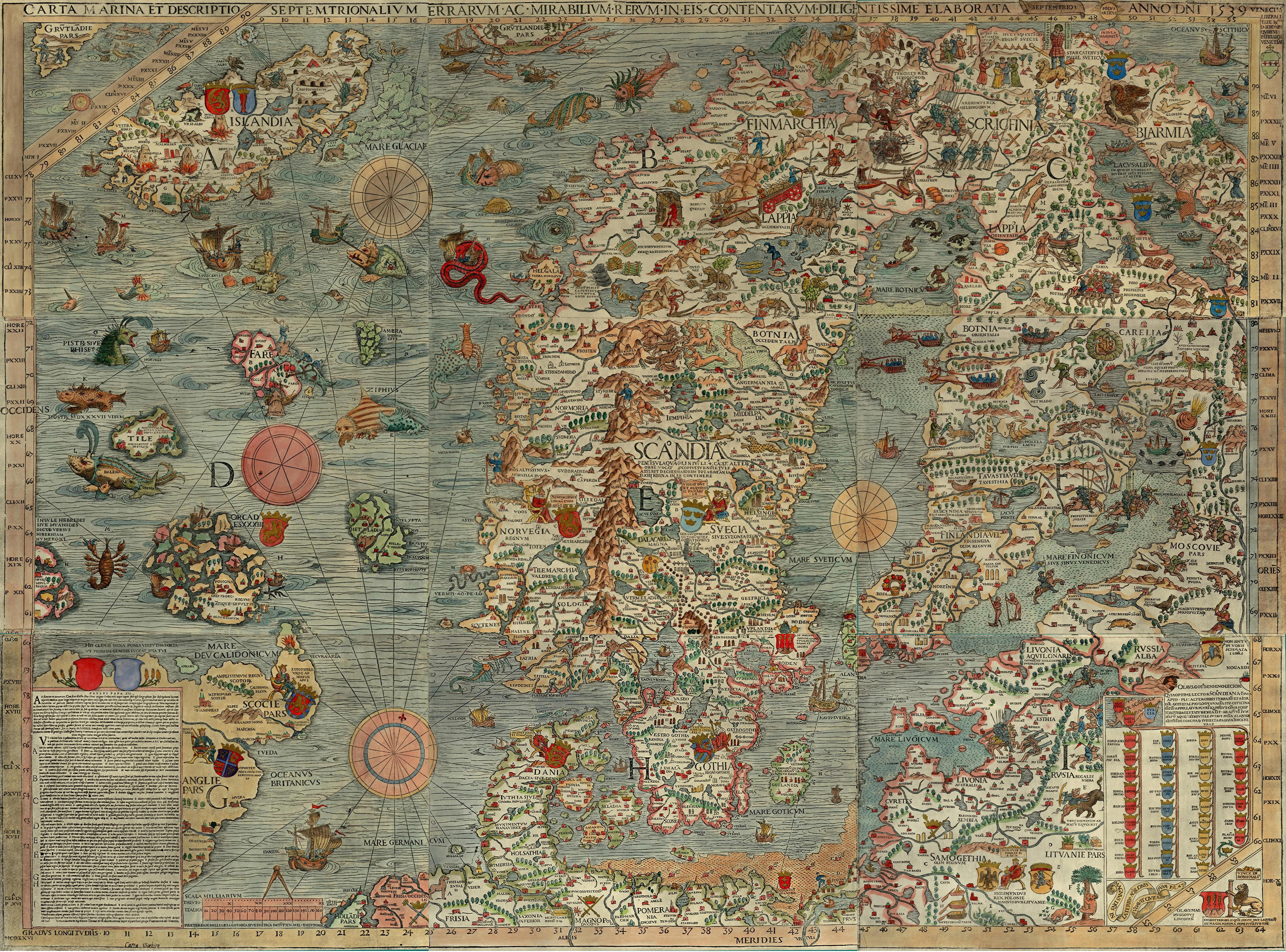 Scandinavia 1539