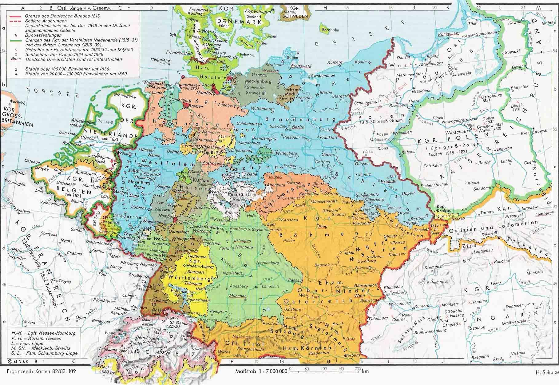 Europa 1815-1866