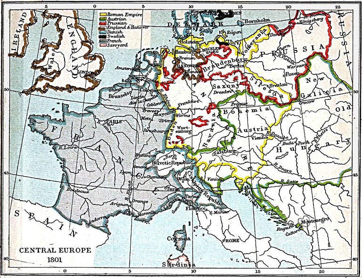 Europa Central 1801 A.D.