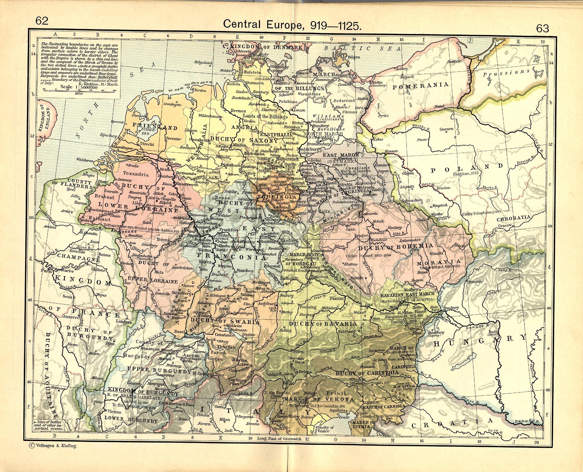 Europa Central 919-1125