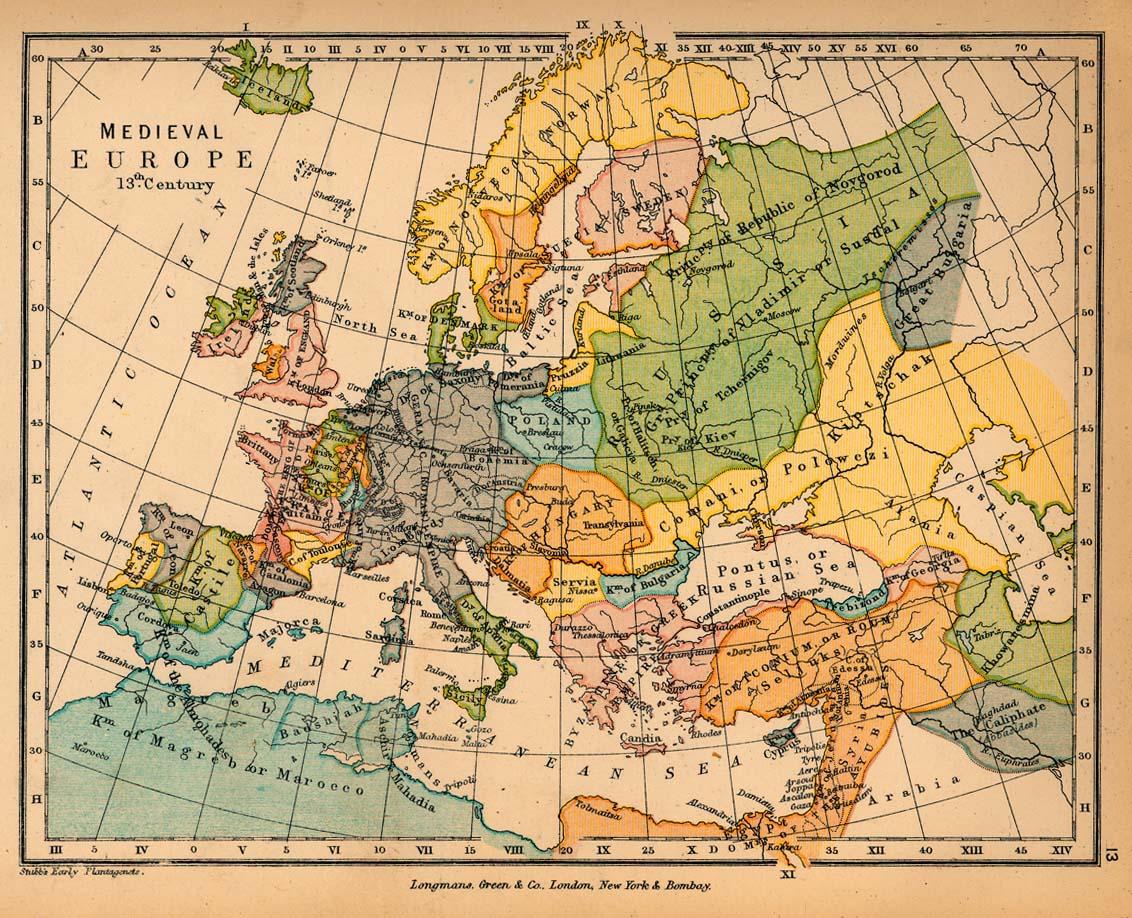 Europa Medieval en el siglo XIII