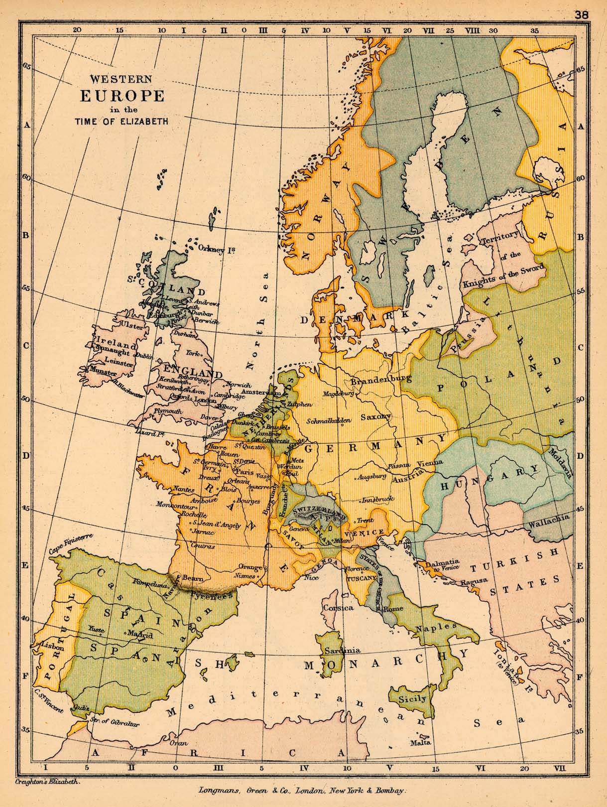 Europa Occidental 1559-1603