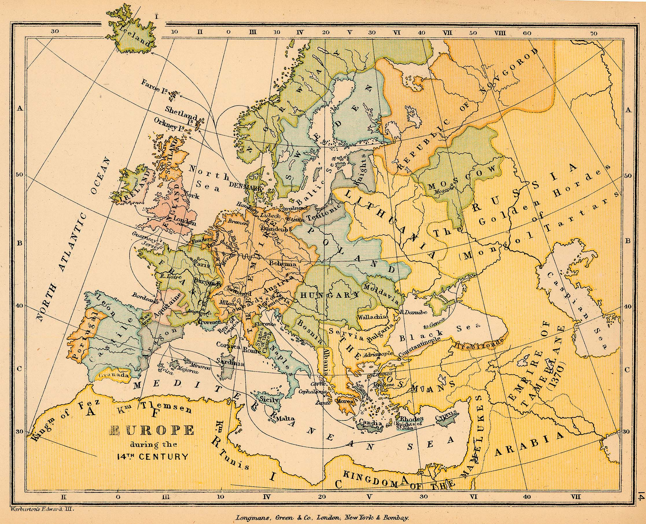 Europe during the 14th Century
