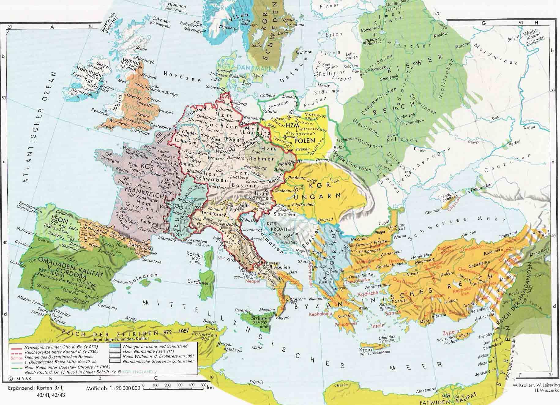 Europa en la Edad Media 900-1000