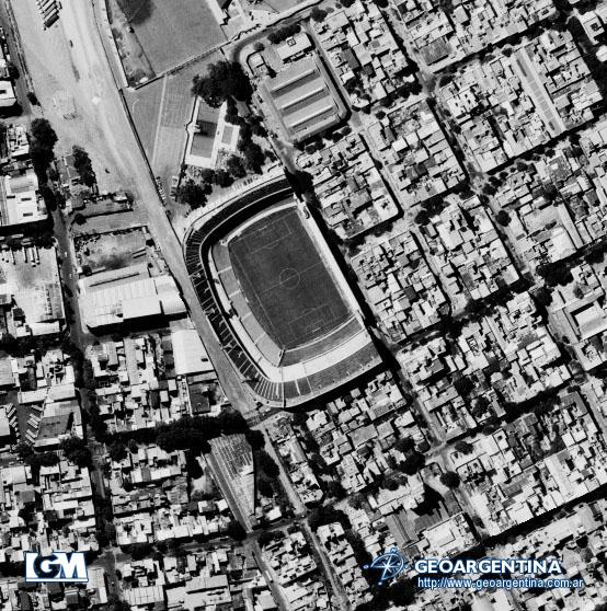 Aerial Photo of Club Atlético Boca Juniors Stadium, Buenos Aires, Argentina