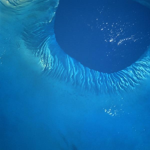 Satellite Image, Photo of Tongue of the Ocean, Bahamas