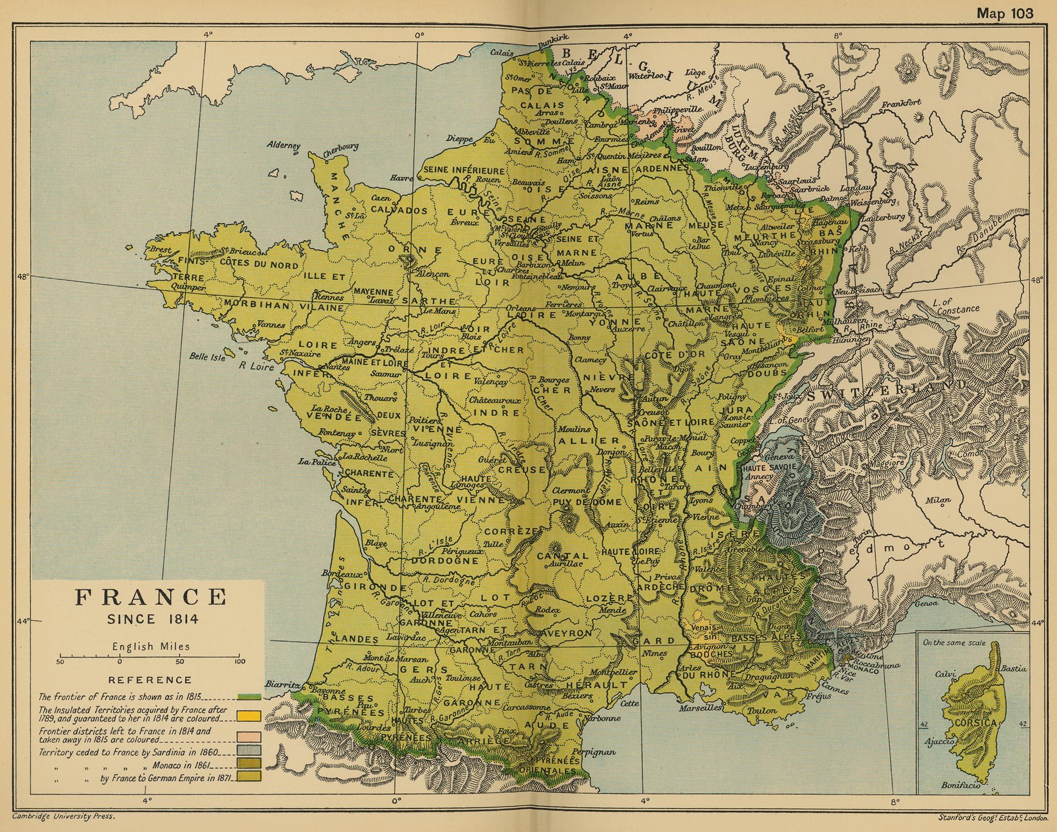 Francia en 1814