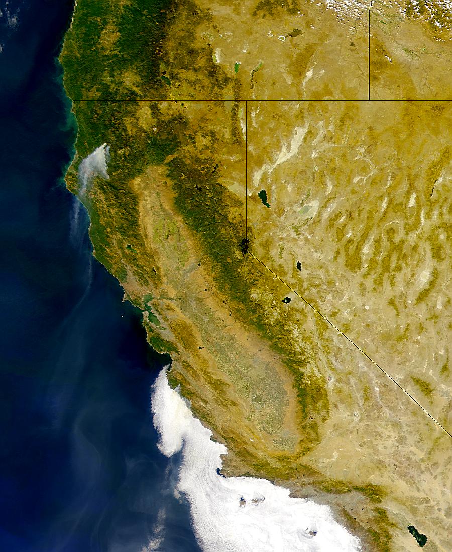 Fuegos en California