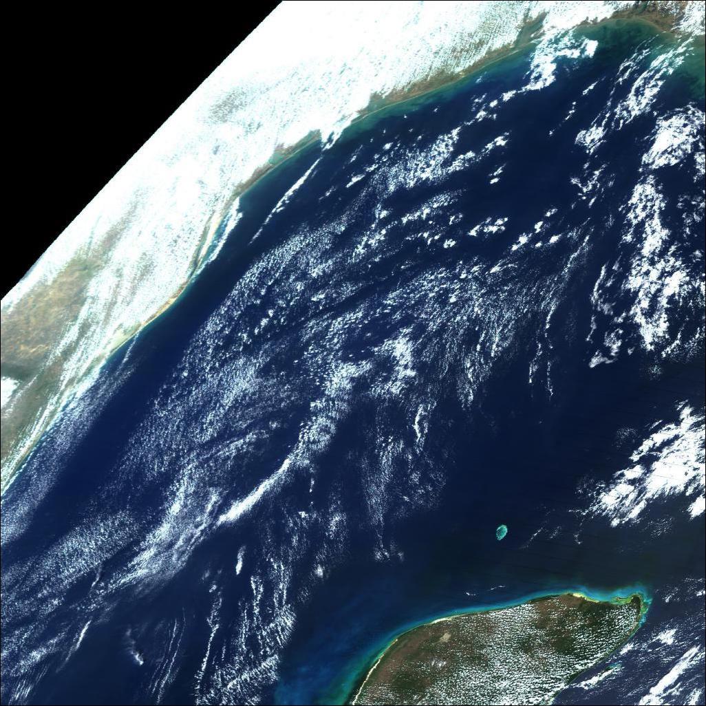 Golfo de México de MODIS