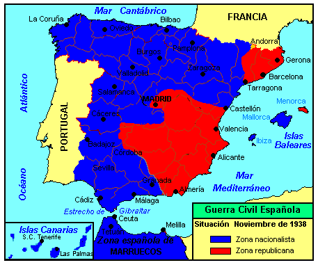 Spanish Civil War November 1938