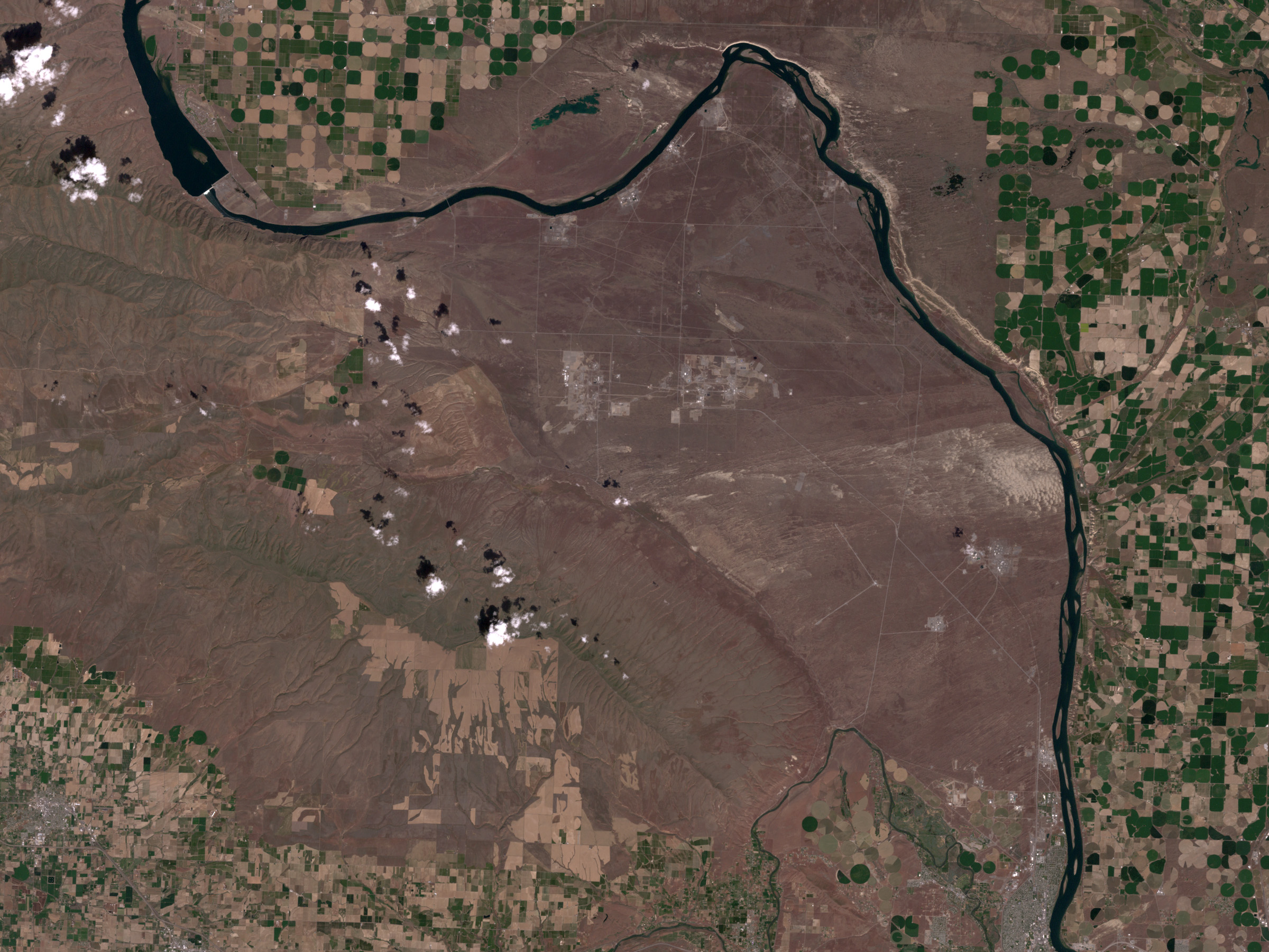Hanford, Washington Before Fires