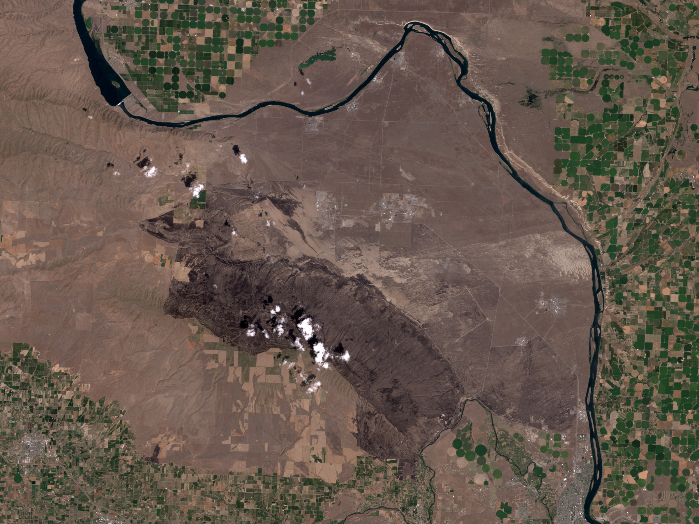 Hanford, Washington After Fires