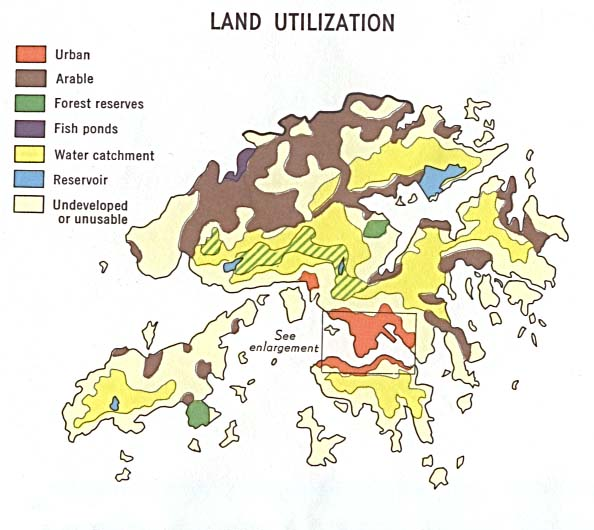 Hong Kong Land Utilization