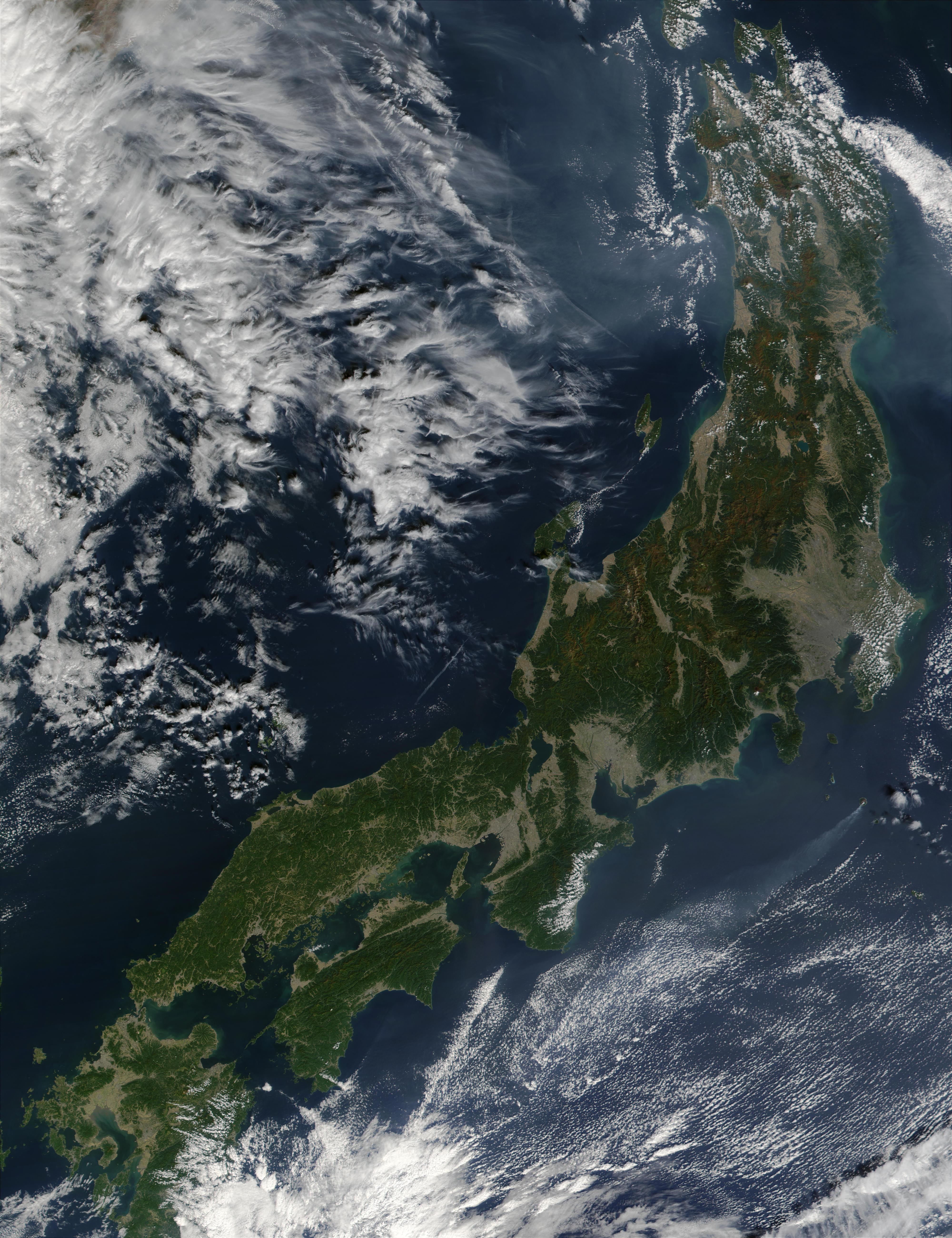 Honshu and Shikoku, Japan