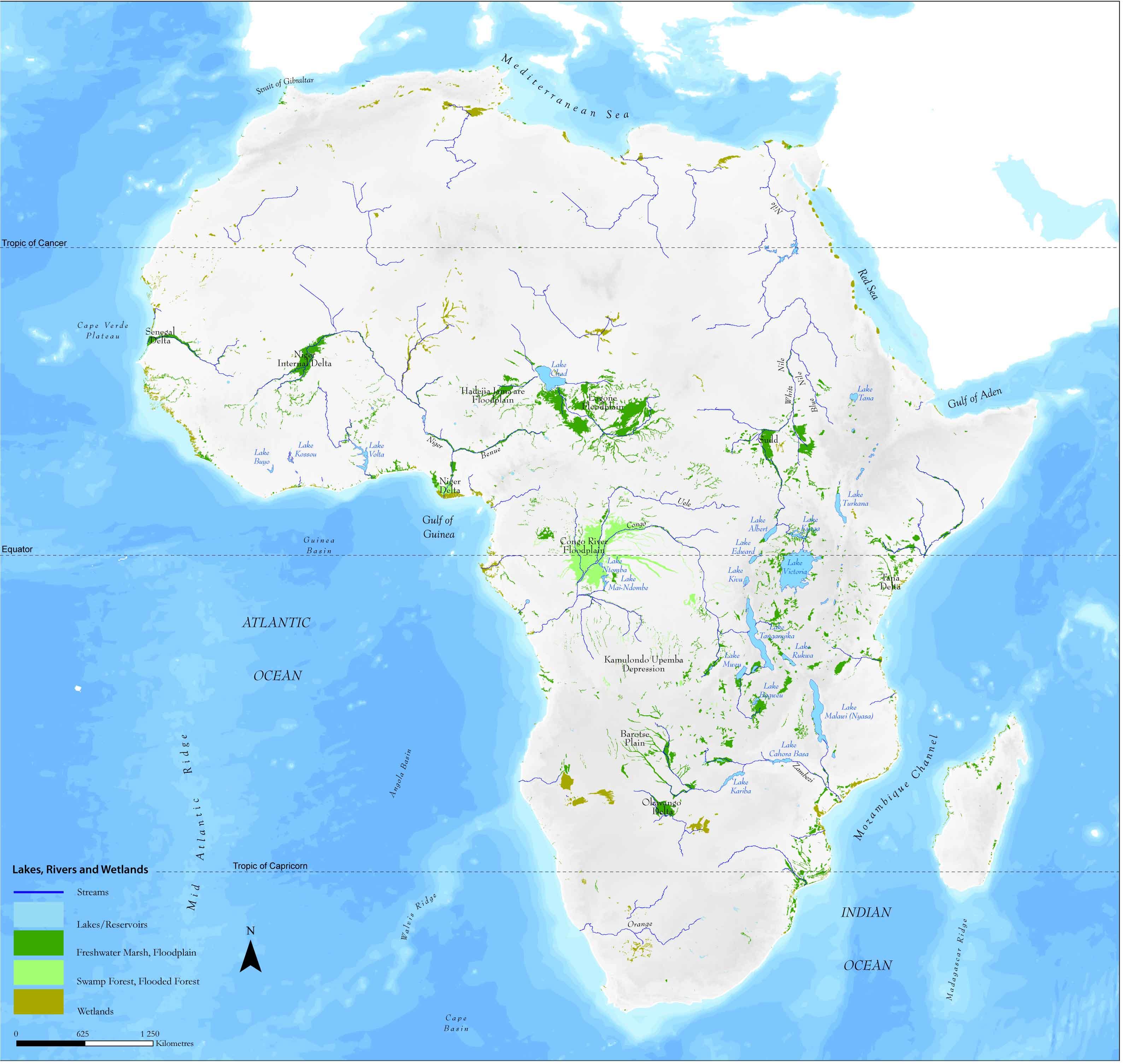 Humedales de África