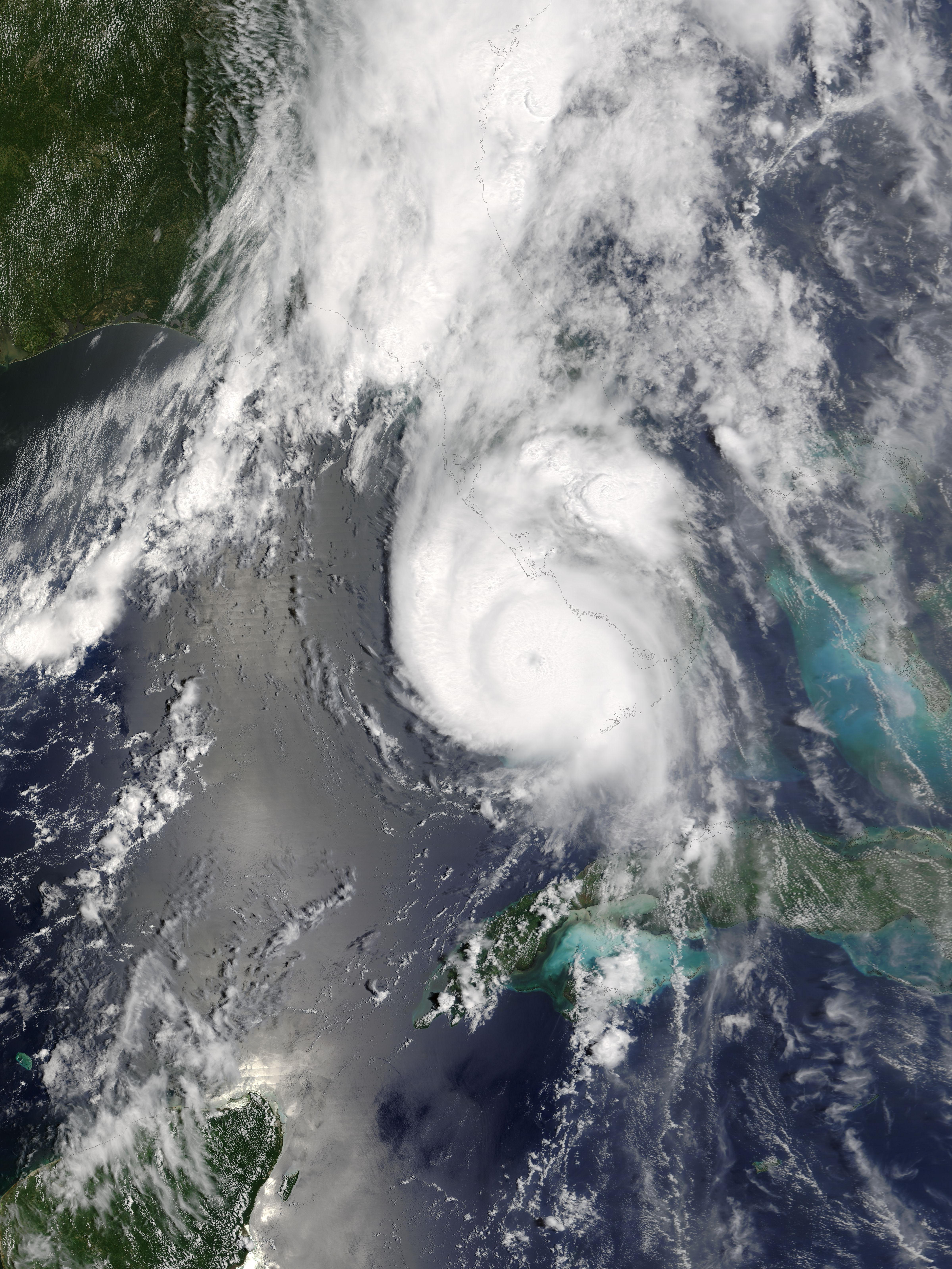Hurricane Charley (03L) off Florida