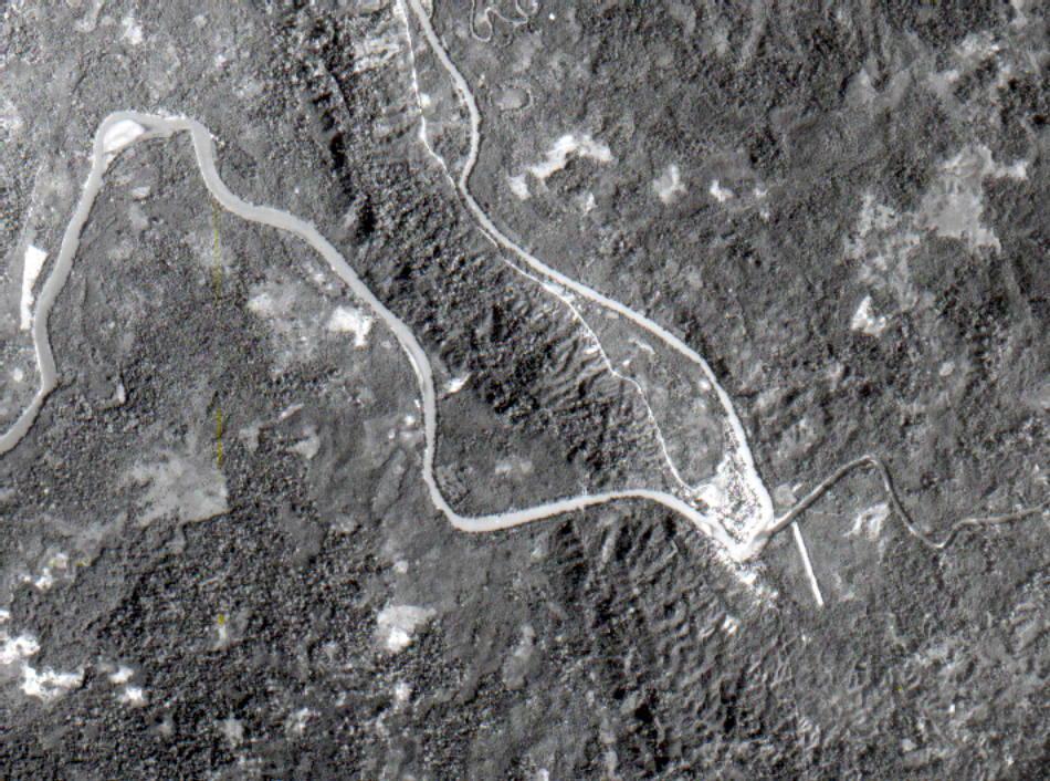 Satellite Image, Photo of Darien, Panama