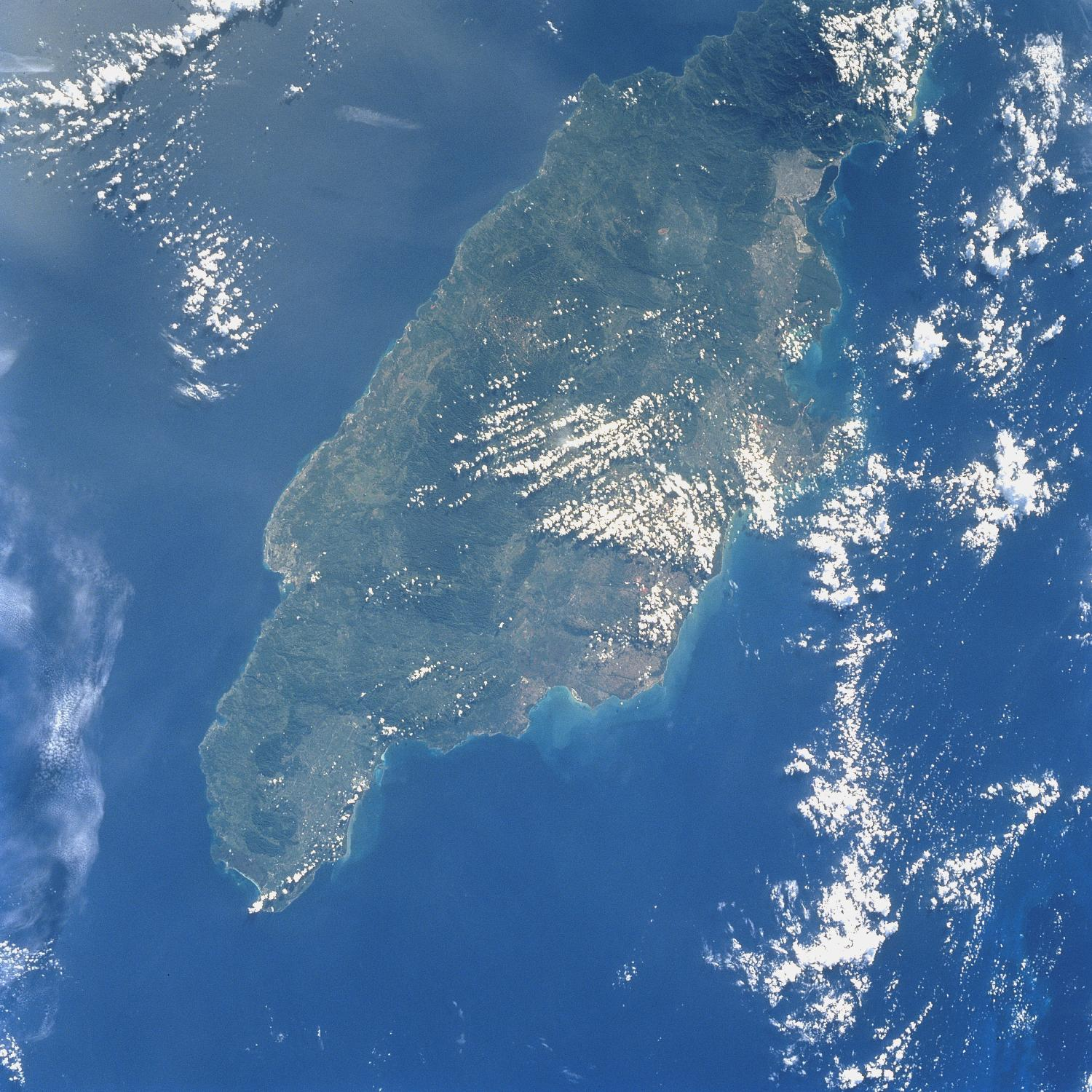 Satellite Image, Photo of Jamaica