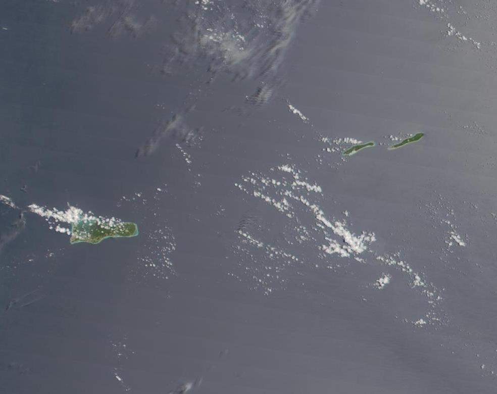 Satellite Image, Photo of the Cayman Islands