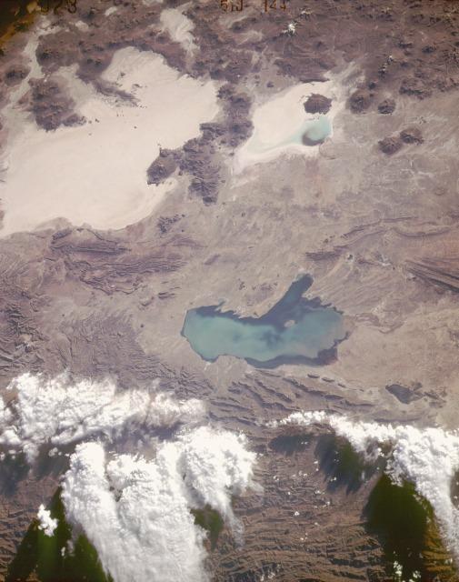 Imagen, Foto Satelite del Altiplano, Sudoeste Bolivia