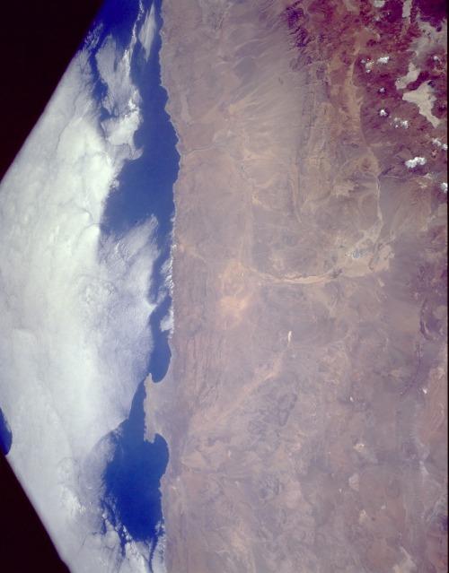 Satellite Image, Photo of Atacama Desert Chile