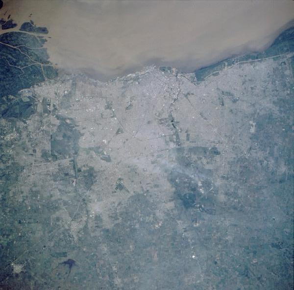 Imagen, Foto Satelite del Gran Buenos Aires, Argentina