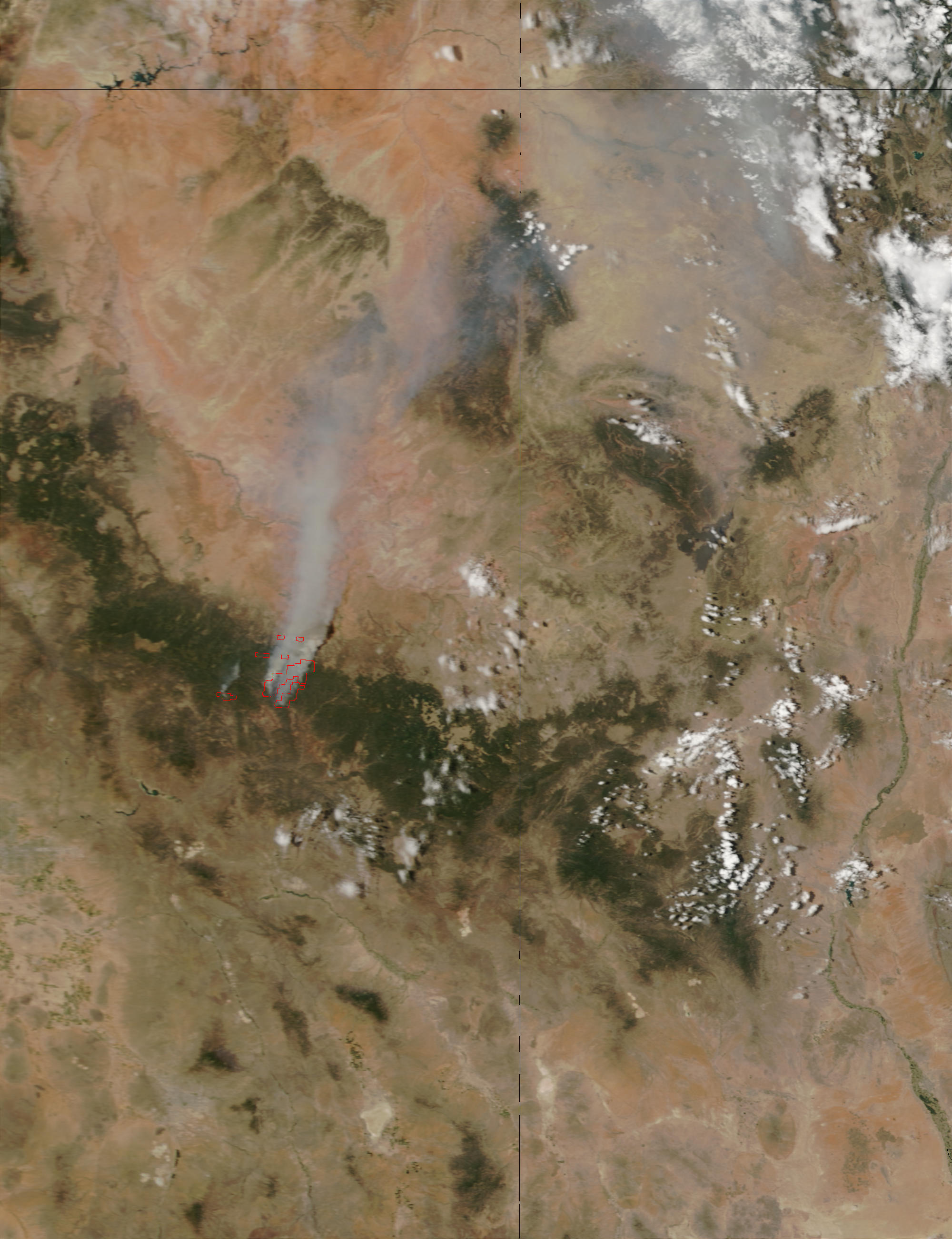 Rodeo fire, Arizona