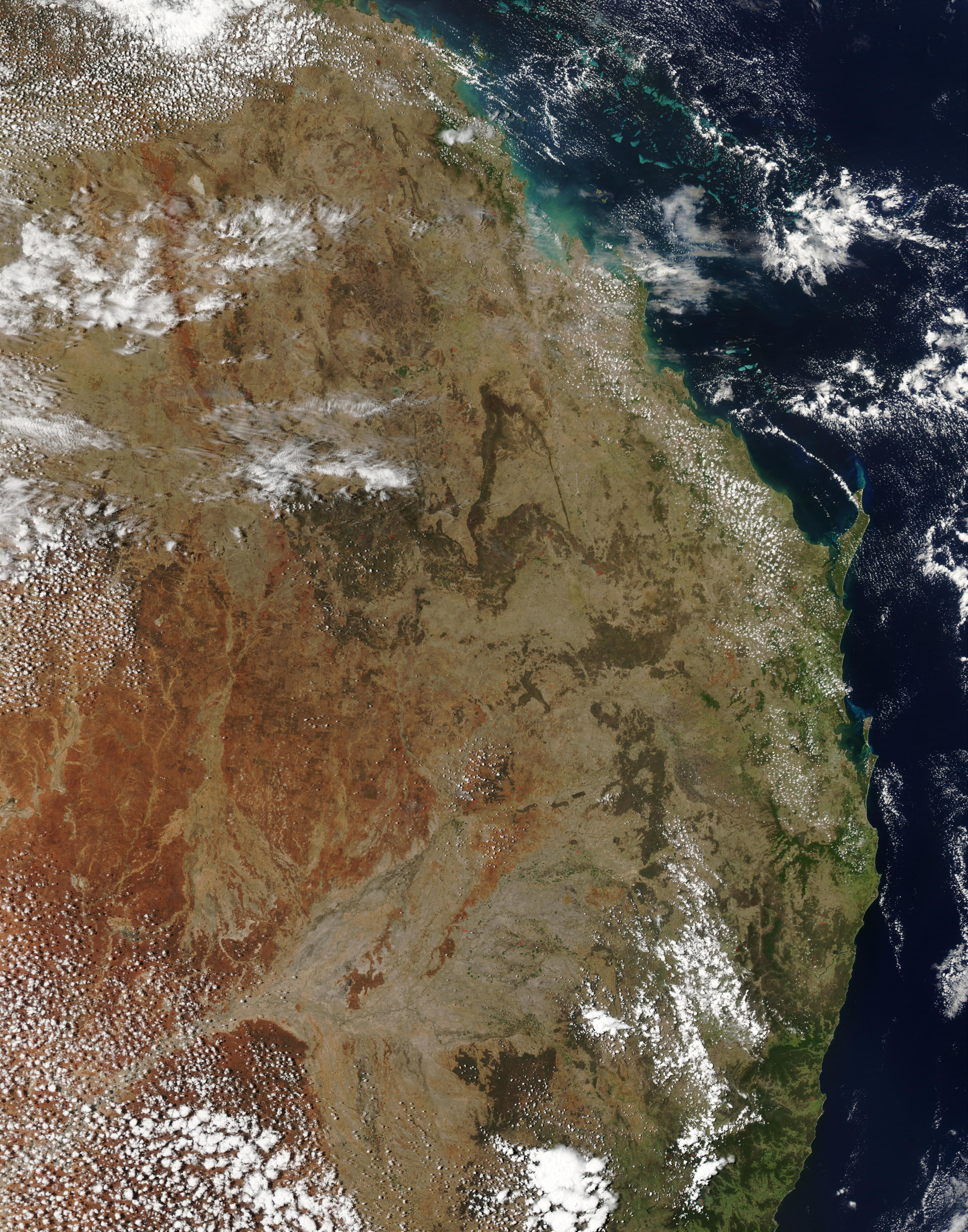Incendios en Australia oriental