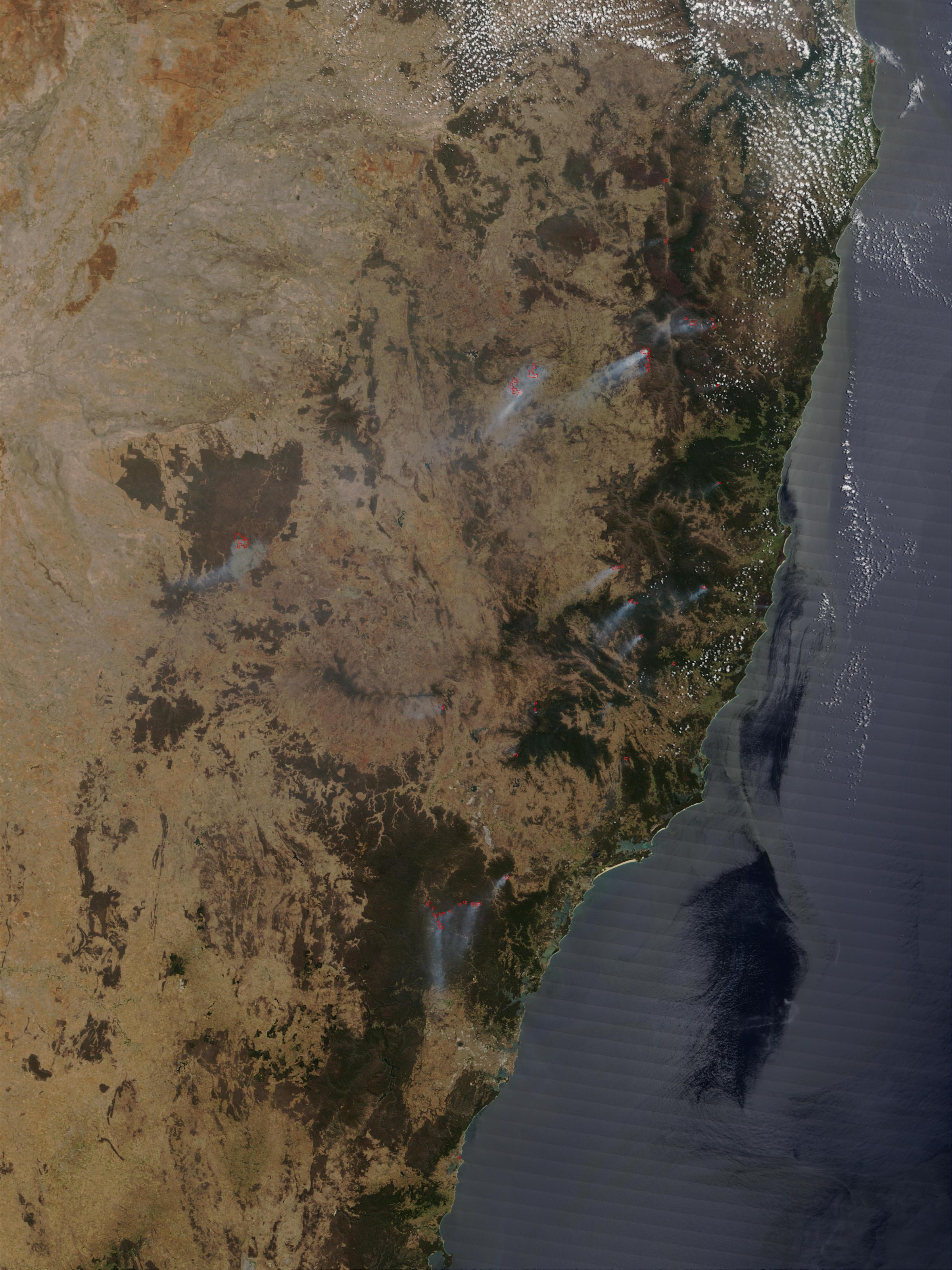 Incendios en Nueva Gales del Sur, Australia