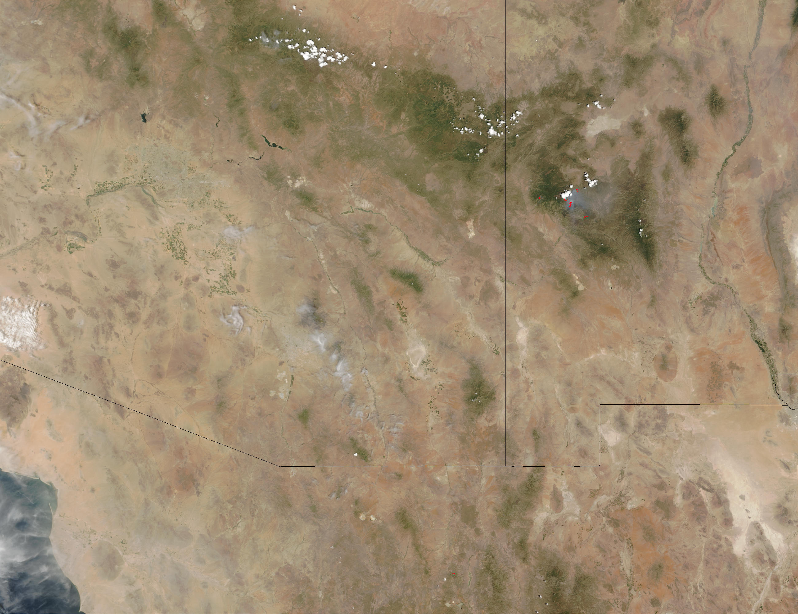Fires in New Mexico