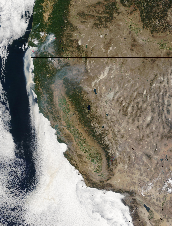 Incendios en Oregón y California
