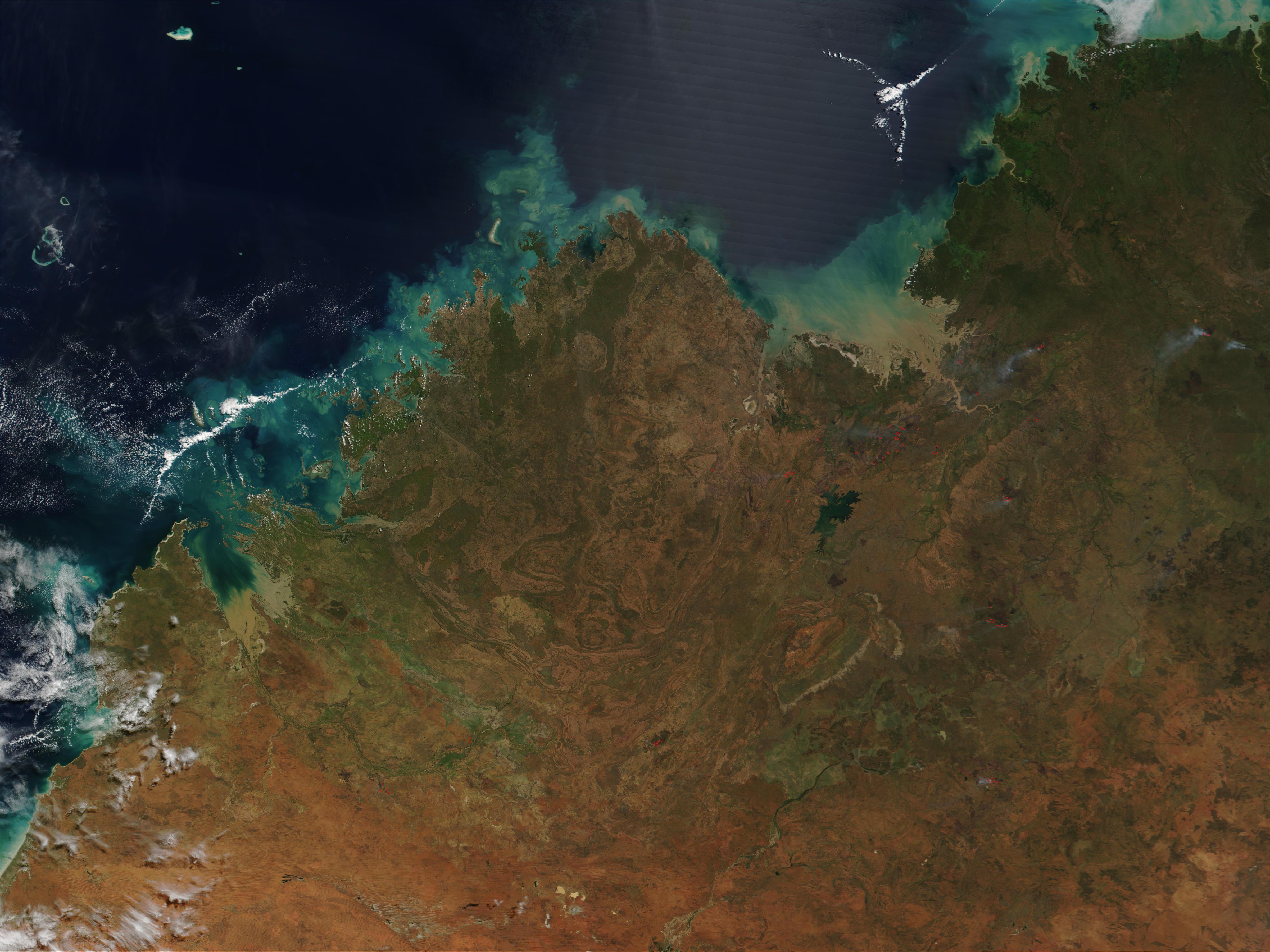 Incendios en el noroeste de Australia