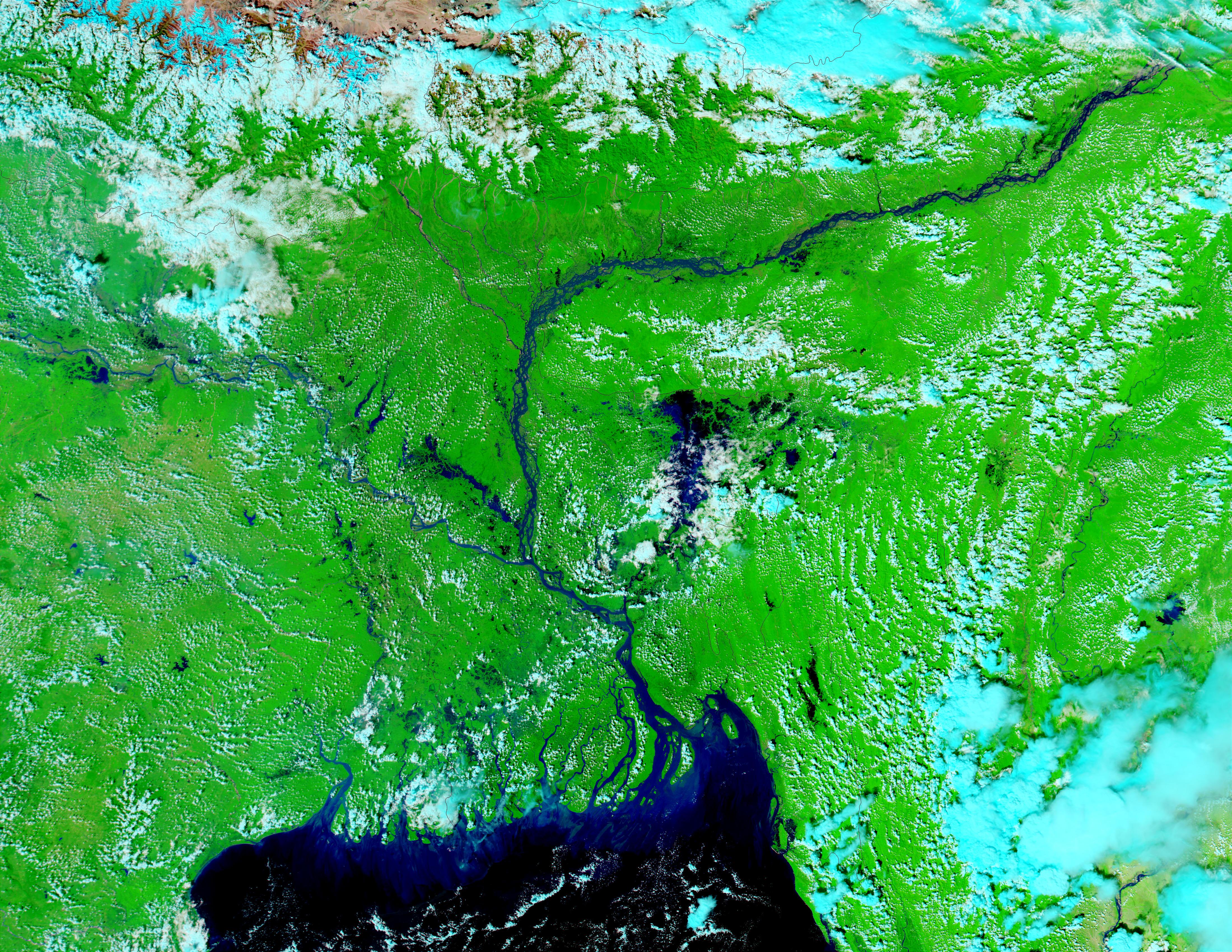 Inundaciones en Bangladesh