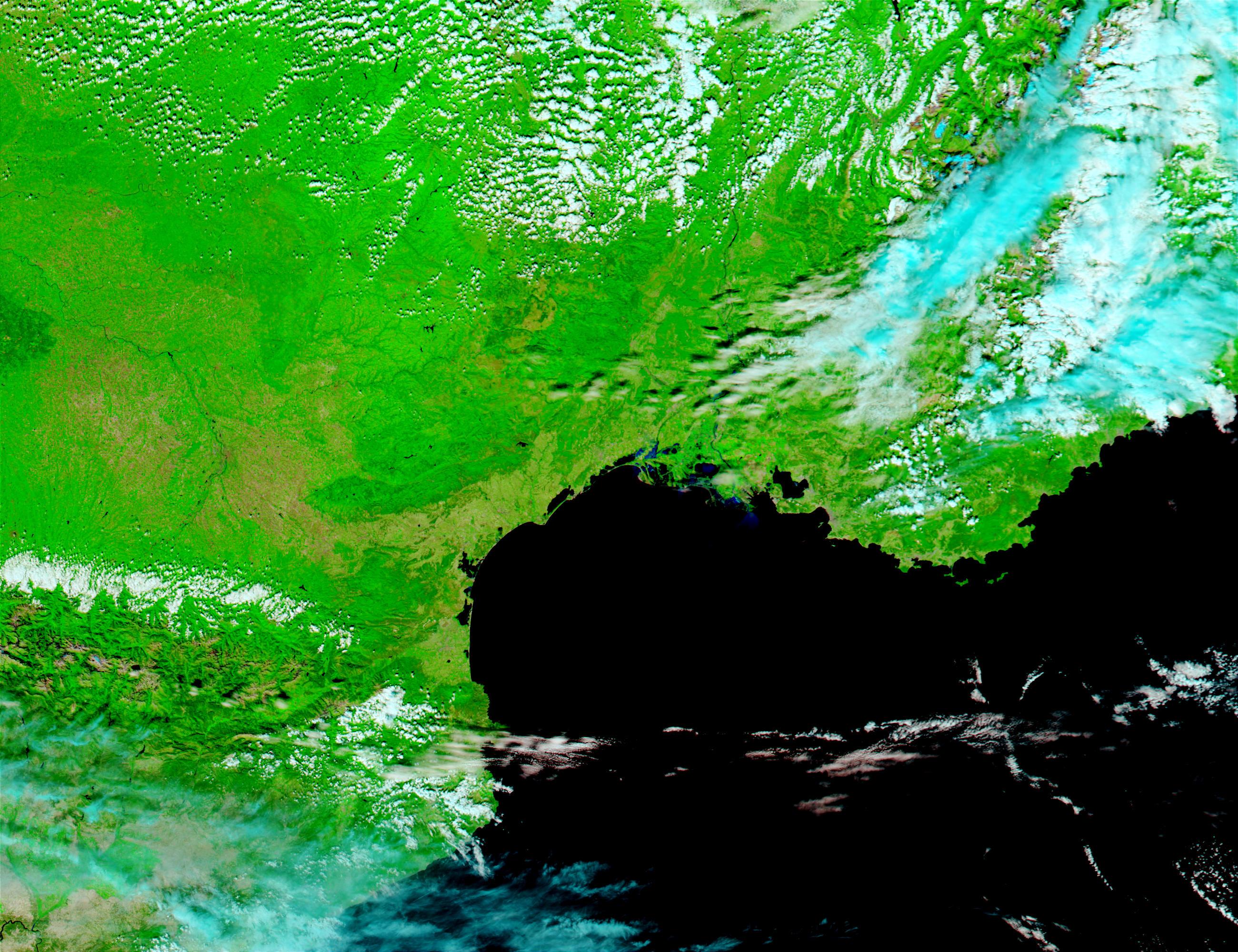 Inundaciones en Francia meridional