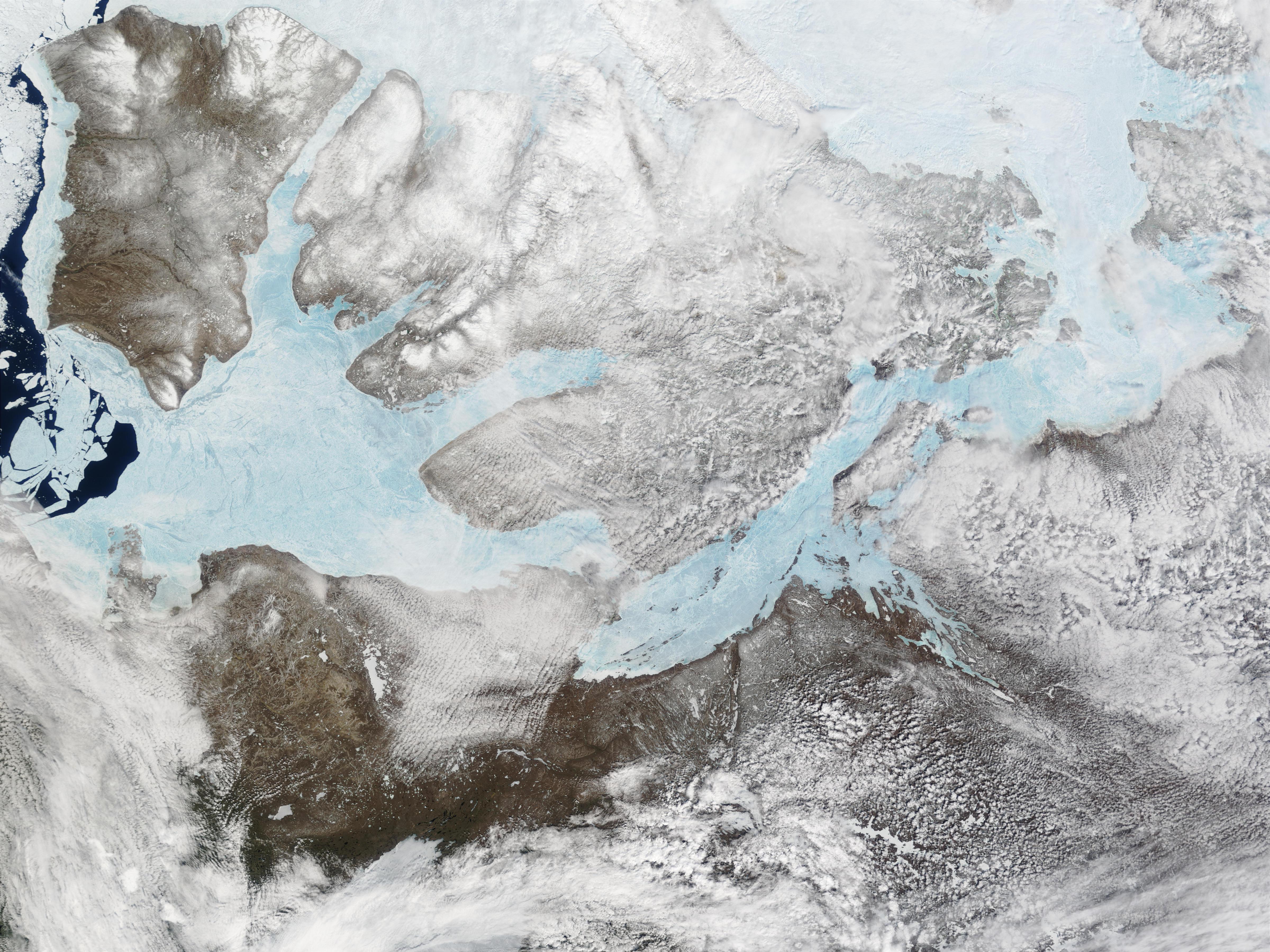 Isla Banks y Isla Victoria, Canadá